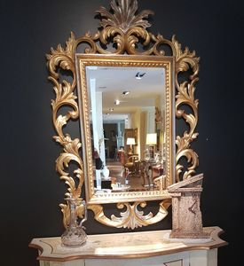 Art. 181, Hand carved mirror, at outlet price