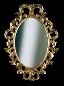 Art. 20218, Classic style oval mirror