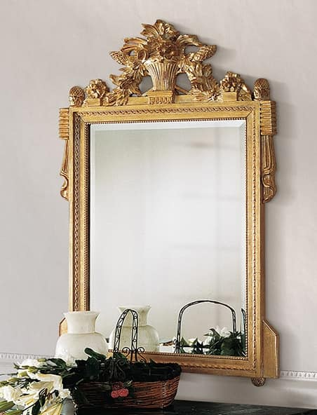 Art. 205/S, Classic mirror with carvings