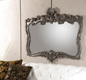Art. 21010, Mirror with platinum color frame