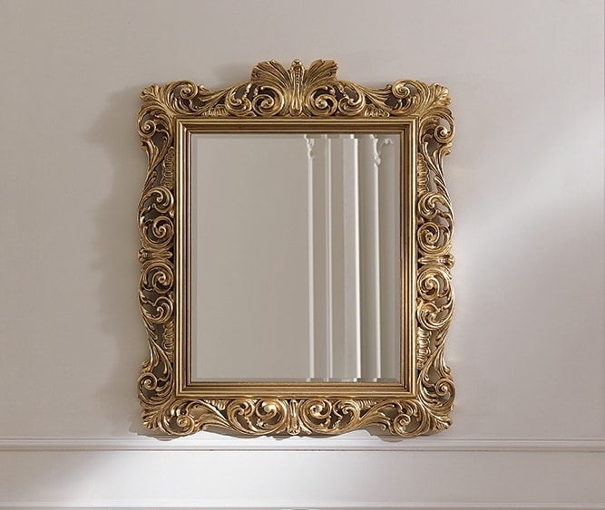 ART. 2834, Classic mirror with frame