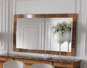 ART. 2931, Classic rectangular mirror