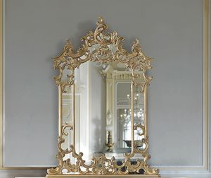 ART. 2950, Classic mirror with cornire and inlays