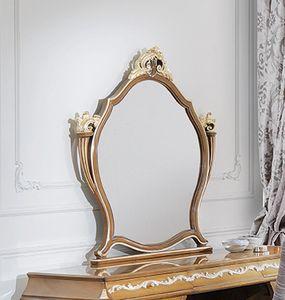 ART. 3053, Classic walnut mirror
