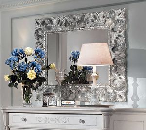 Art. 310, Mirror with silver finish frame