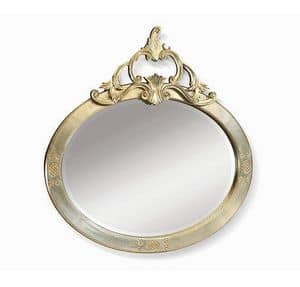 Art. 712, Oval mirror ideal for restaurants and hotels