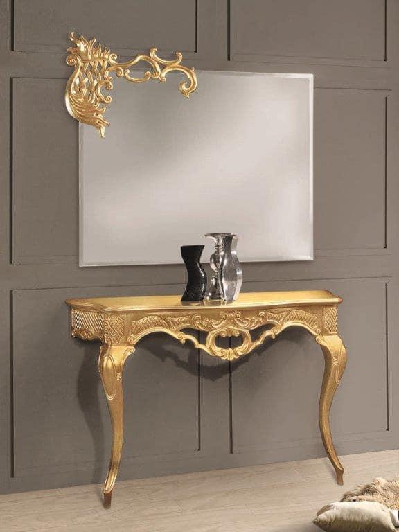 Art. 715, Rectangular mirror with detail on a corner