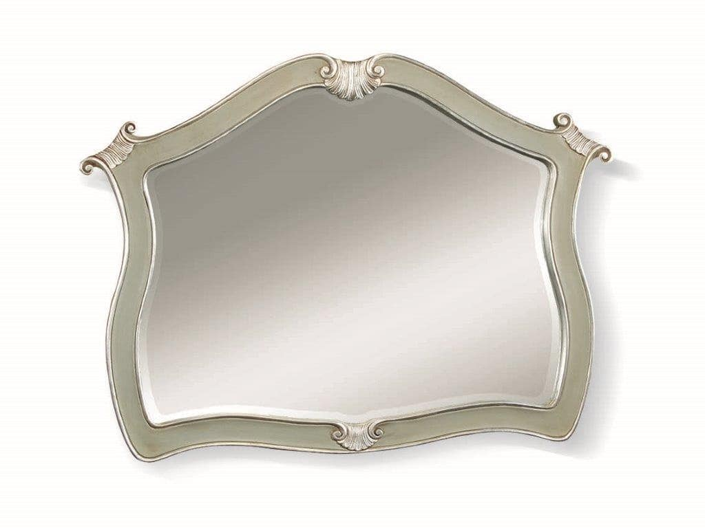 Art. 738, Shaped mirror with silver leaf finish