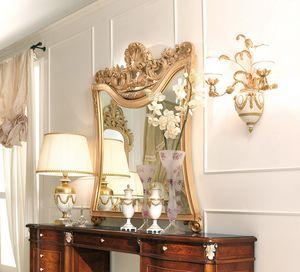 Art. 800T/S, Impressive classic carved mirror