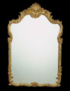 Art. 8020, Carved mirror, for classic furnishings