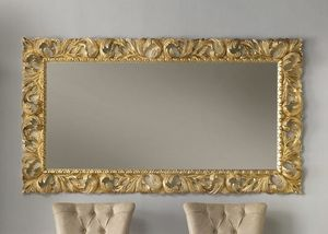 Art. 803, Carved mirror, gold finish
