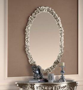 Art. 901, Silver oval mirror