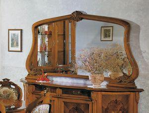 Brianza mirror, Classic style countertop mirror