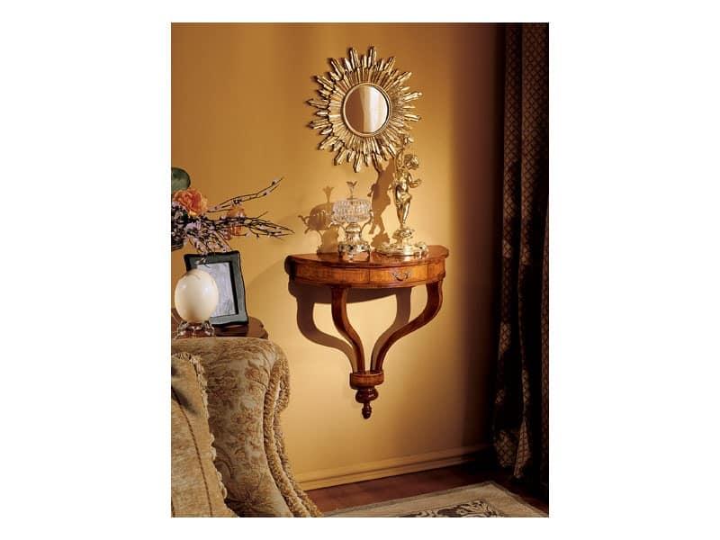 Emanuela mirror, Wall mirror with sun shape