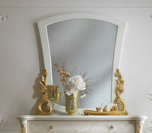 Fenice Art. 1311, Mirror with carved frame
