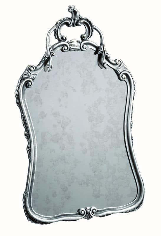 Flaminia FA.0153, Baroque mirror for living rooms and dining rooms