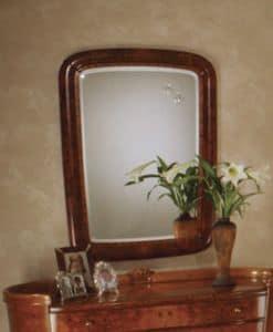 Flory mirror, Classic rectangular mirror in Ash
