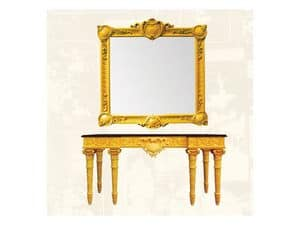 Frame art. 100, Frame made of lime wood, classic style
