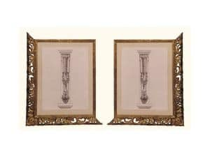 Frame art. 102, Frame made of lime wood, Venetian style