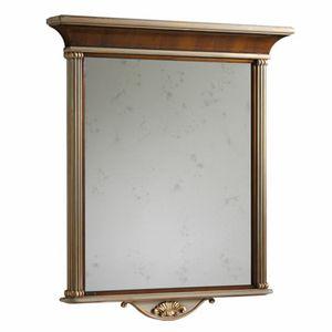Koh-I-Noor LU.0404, Walnut wall mirror