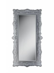 Louvre mirror, Classic style mirror with glass frame