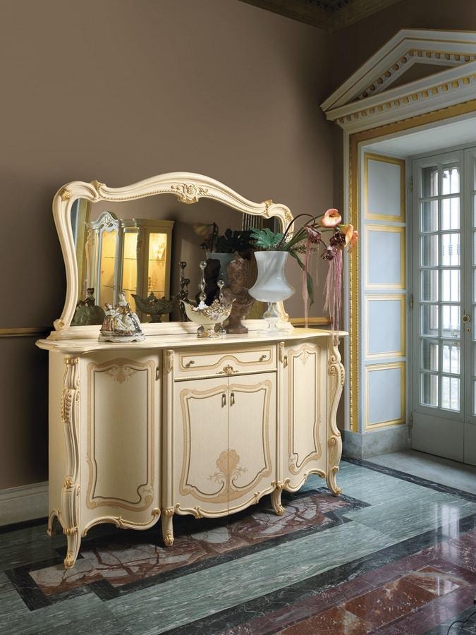 Opera mirror, Luxurious countertop mirror