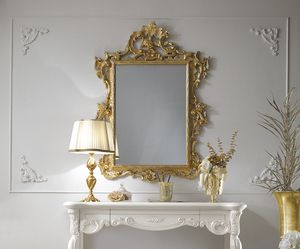 Puccini Art. 110, Classic mirror, gold leaf finish