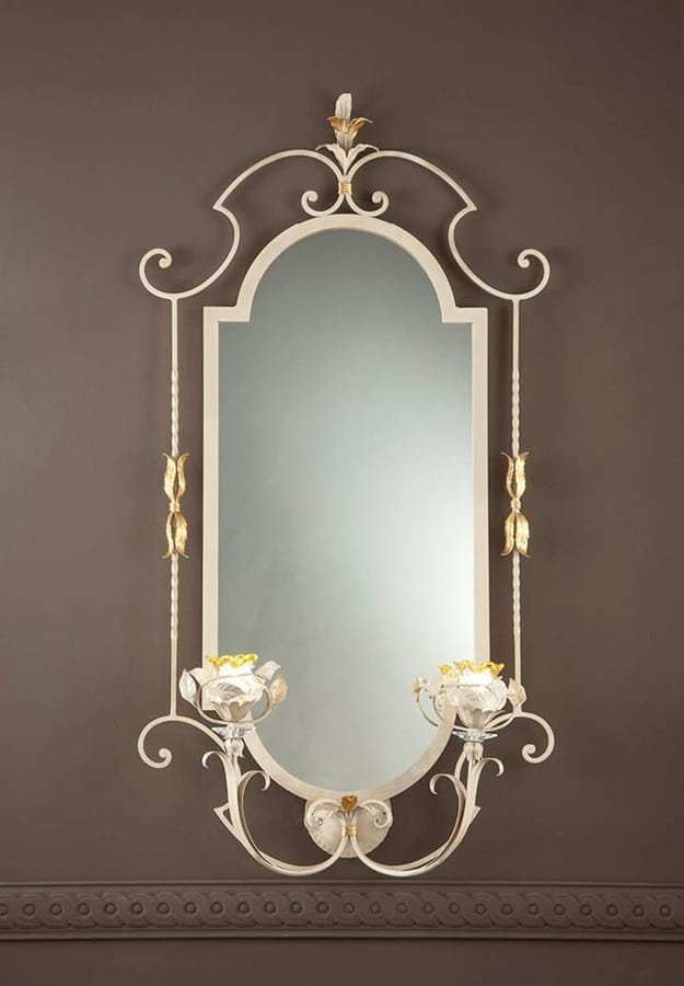 SP.8425/2/G, Classic mirror with integrated lights