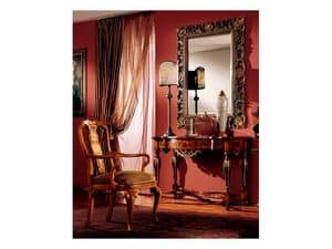 Venezia mirror 832, Mirror with handmade carved frame