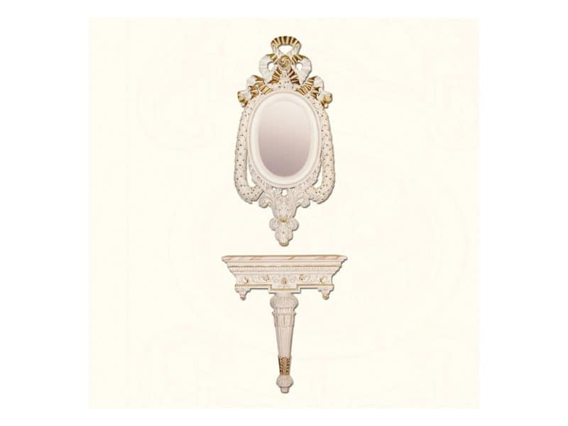 Wall Mirror art. 152, Classic style mirror, with decorated frame