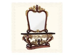 Wall Mirror art. 161, Mirror with frame, 600 style