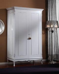 3615 WARDROBE, Wardrobe with 2 doors suited for classic bedrooms