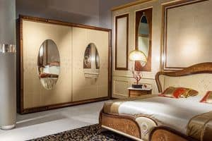 AR21 Arts two doors wardrobe, Classic wardrobe suitable for luxury hotel rooms