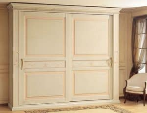 Art. 2004 Canova, Luxury wardrobe, with sliding doors, for classica style bedroom