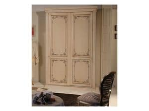 Art. 2013 Delyse, Cabinet with 2 doors, decorated in beech, for hotel