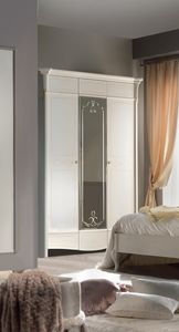 Diamante Art. 2120, Classic wardrobe with mirror door