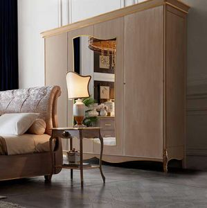 Fru-Fru wardrobe, Classic style wardrobe with mirror