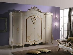Isabel wardrobe, Wardrobe with classic style decorations