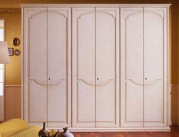 Pegaso wardrobe, Luxurious wooden Wardrobe for villas and hotels