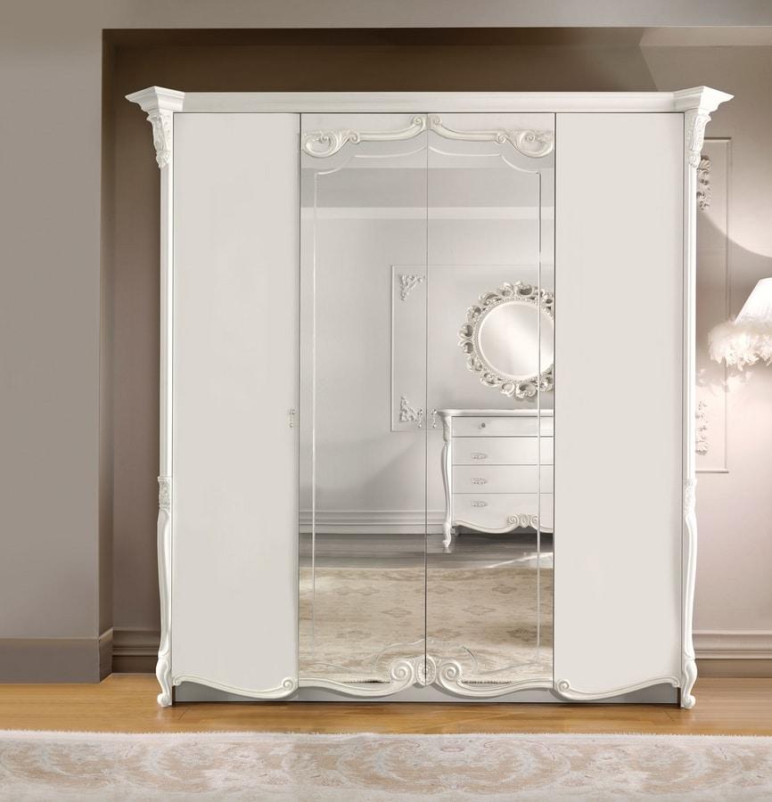 Puccini Art. 7515, Elegant classic style wardrobe