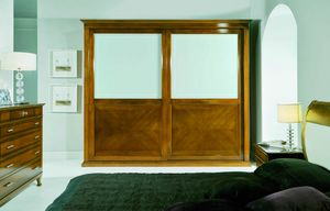 Sofia wardrobe, Classic wardrobe with sliding doors
