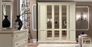 Treviso wardrobe, Wardrobes with mirrored doors