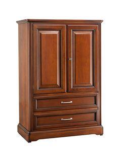 Villa Cinquanta wardrobe 7571, Classic wardrobe with drawers