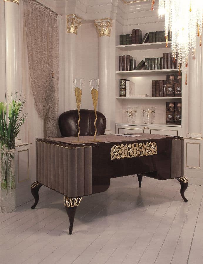 Art. 103, Executive desk for offices, luxury classic style