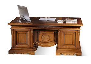 1496V2, Inlaid writing desk  in wood