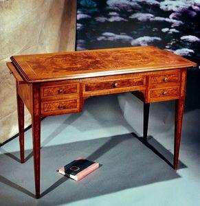 Art. 173 Parigi, Classic style desk, extendable top