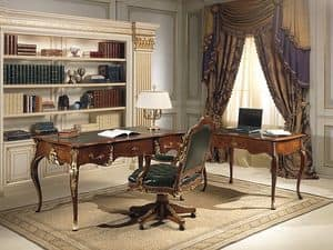 Art. 2008/16, Desk with Louis XV stylne, walnut antiques, high quality