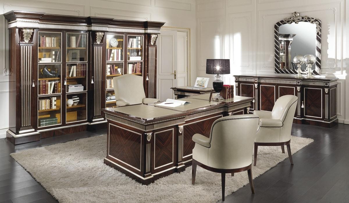 ART. 2713, Classic rosewood desk