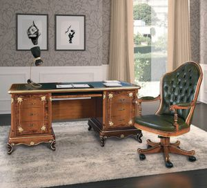Art. 3004, Desk with leather top