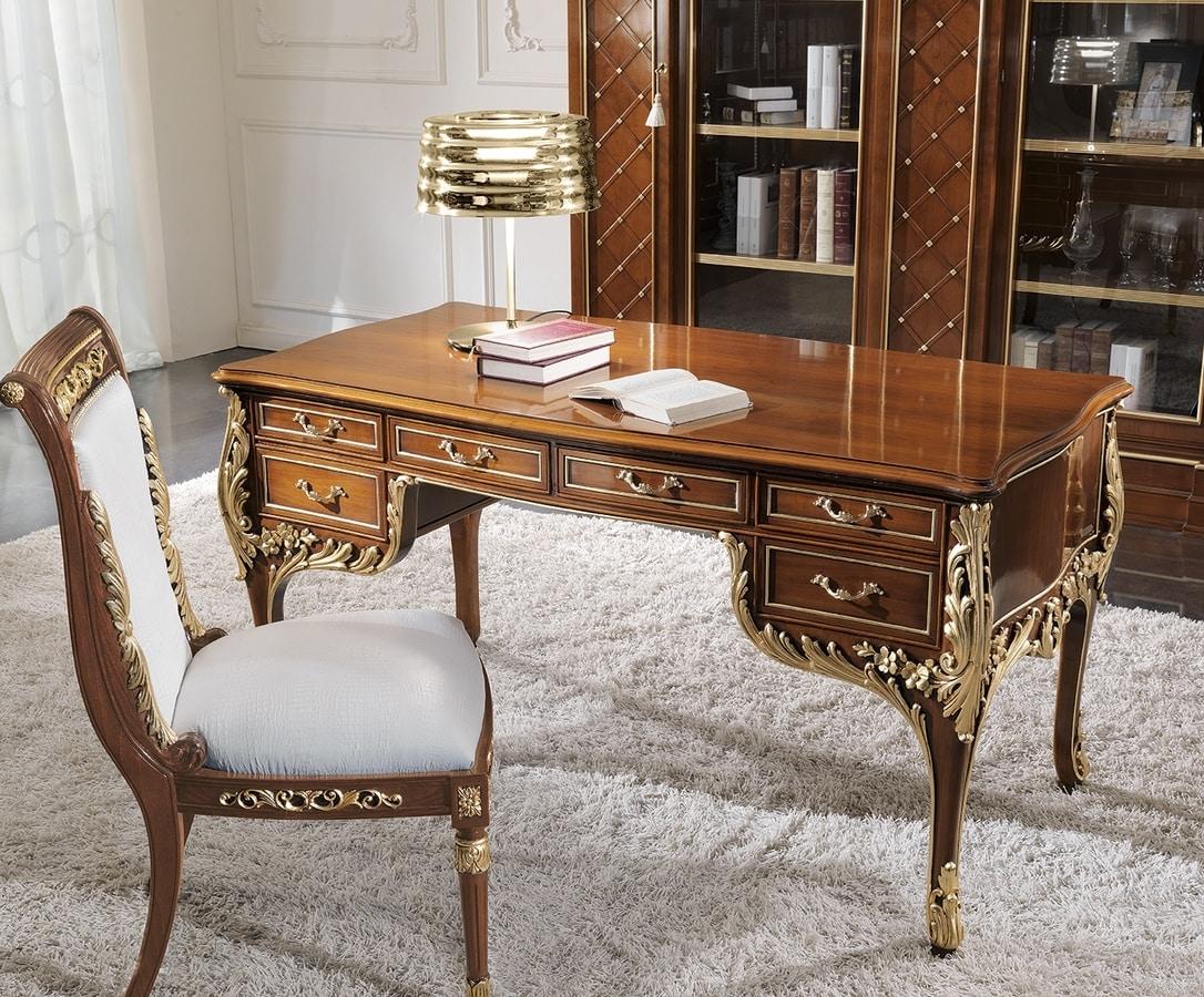 ART. 3028, Classic wooden writing desk